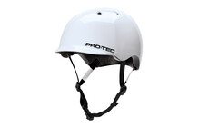 ProTec Riot Street Helm gloss white